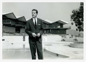 Architect Jack Simison, 1962