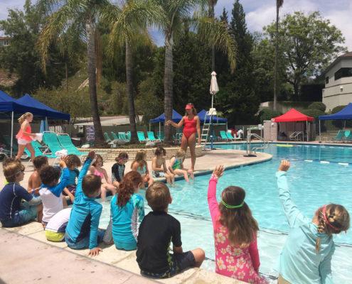 Camp Canada swimming