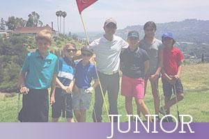 Junior-Coach-with-golf-team