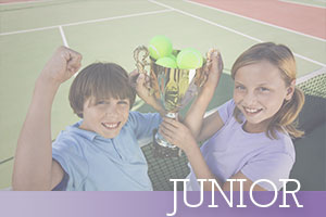 Junior-kids-holding-up-tennis-trophy