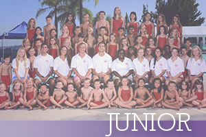 Junior-Swim team